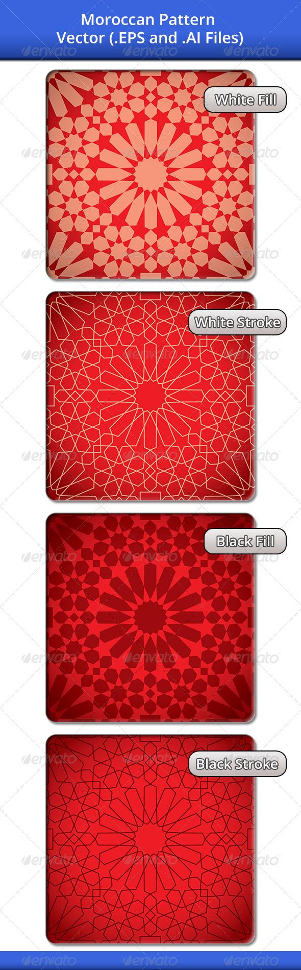 Moroccan Pattern 1 - Patterns Decorative