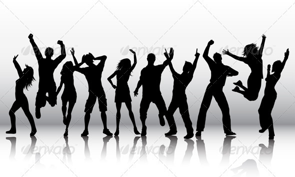 GraphicRiver People dancing 684098
