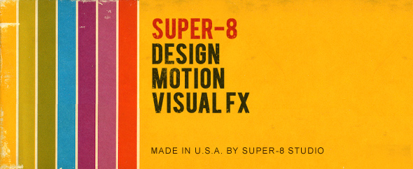 Super 8 profile header