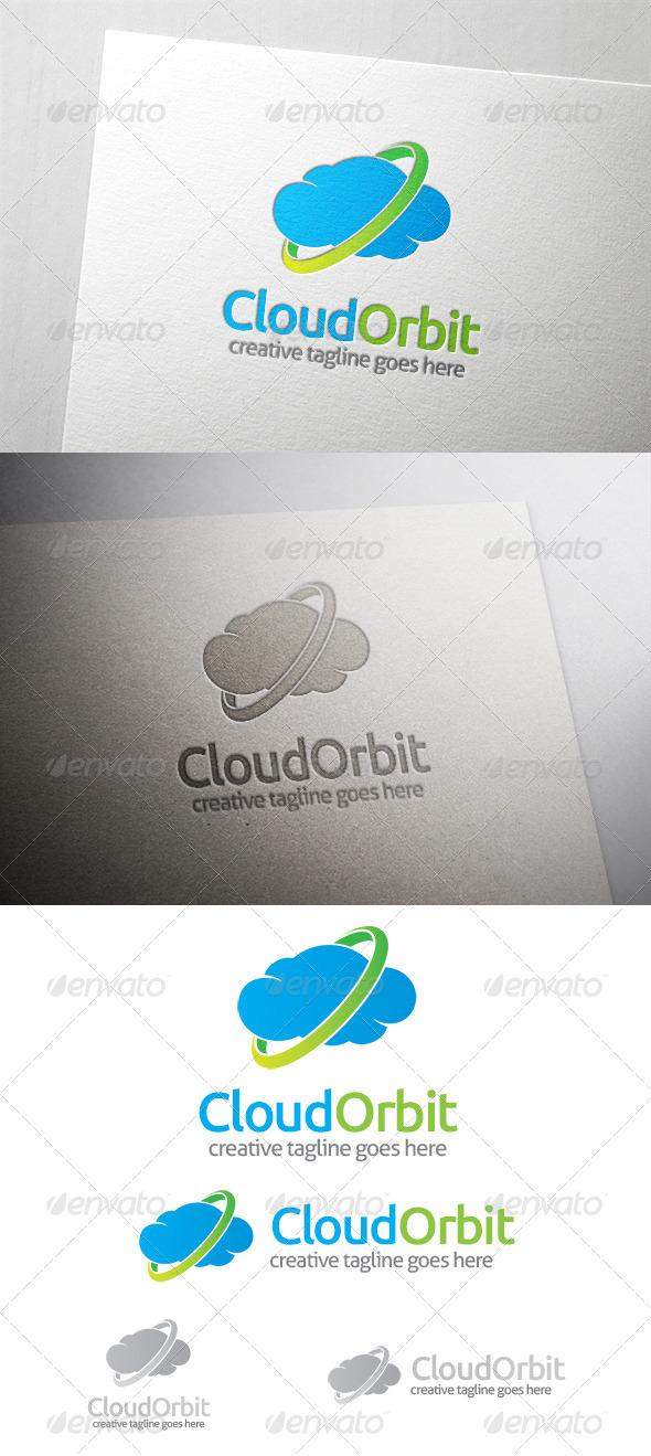 GraphicRiver Cloud Orbit Logo 6540932