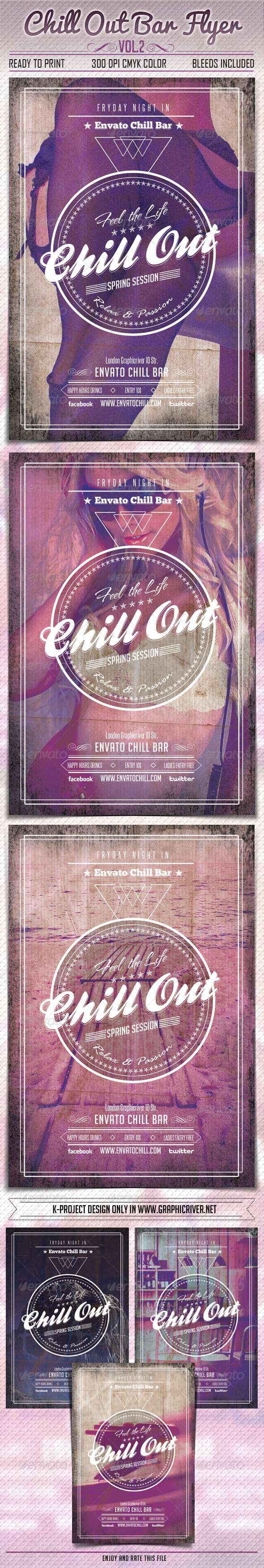 GraphicRiver Chill Out Bar Flyer Vol2 6541473