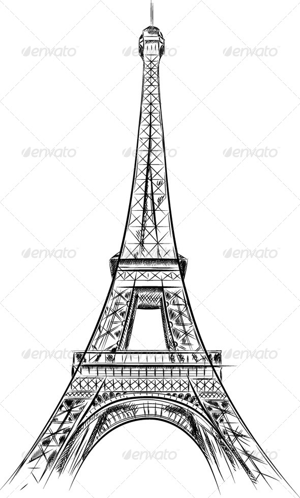 GraphicRiver Eiffel Tower 6541700
