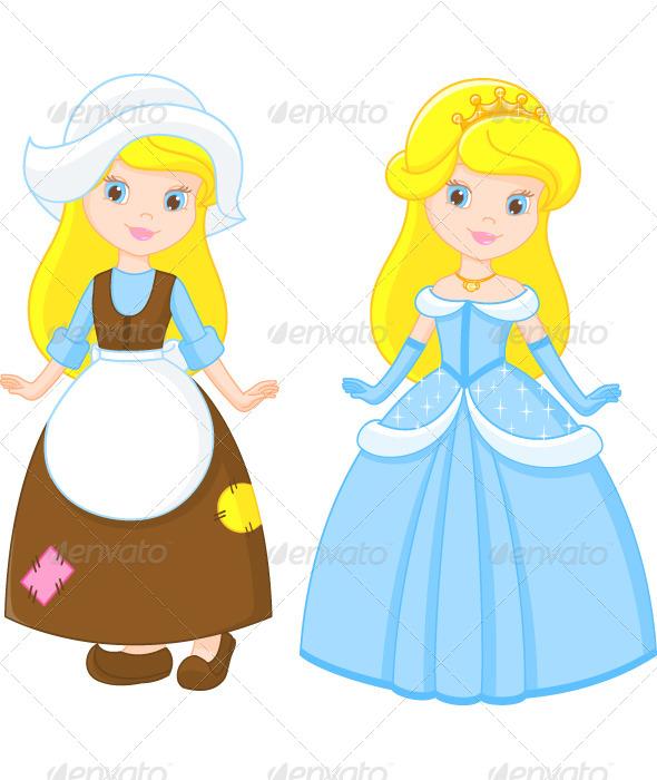 GraphicRiver Cinderella 6541883