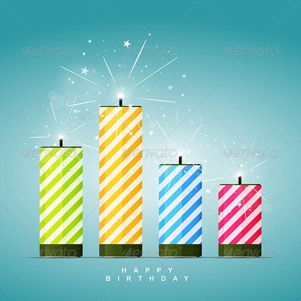 GraphicRiver Birthday Firecrackers 6541882