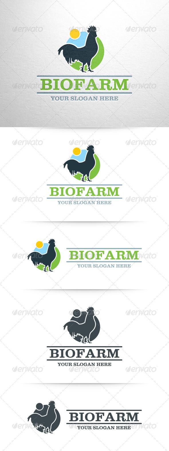 GraphicRiver Bio Farm Logo Template 6518703