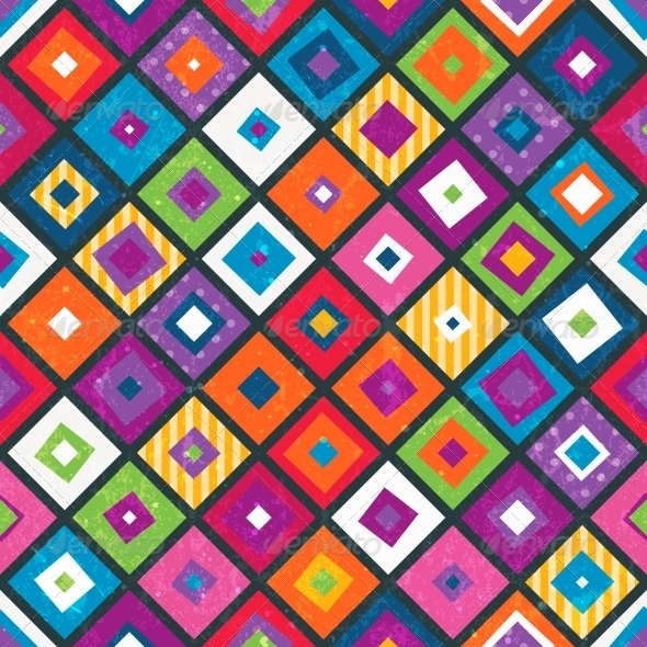 GraphicRiver Abstract Seamless Background with Squares 6542859