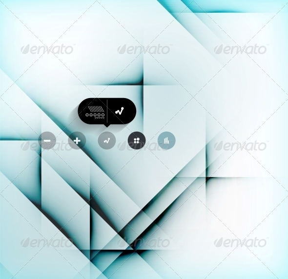 GraphicRiver Shadow Lines Abstract Design 6543046