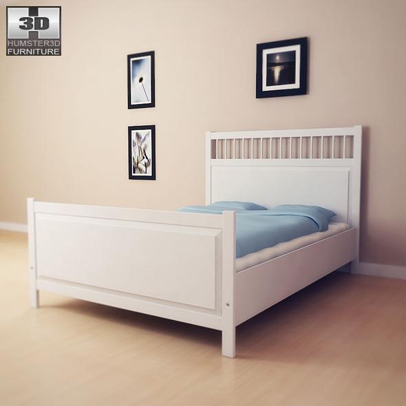 IKEA HEMNES Bed 2 3D Model by humster3d 3DOcean