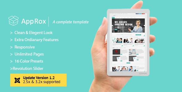 AppRox Multipurpose Mega Premium Joomla Template