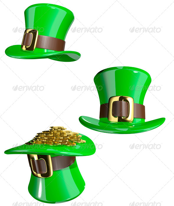 GraphicRiver St Patrick s Hat 6544847