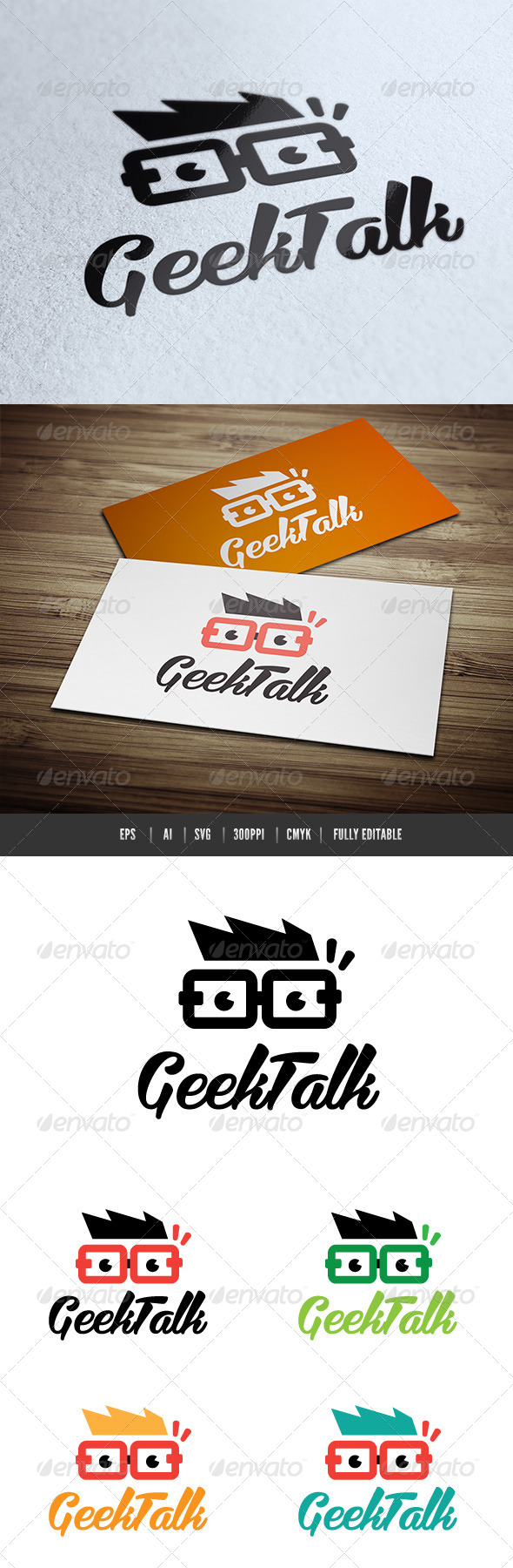 GraphicRiver Geek Talk 6544887