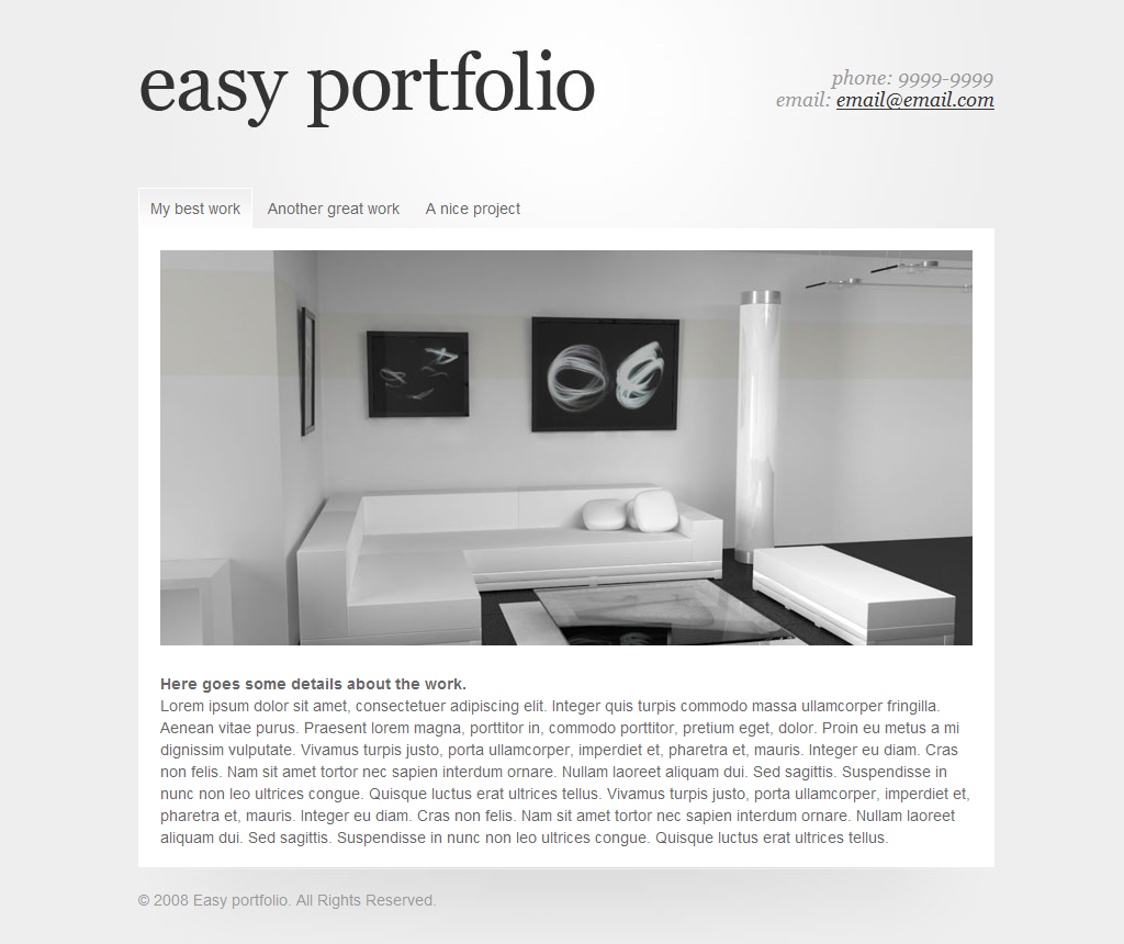 Easy Portfolio