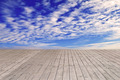 Wooden Surface and Beautiful Sky - PhotoDune Item for Sale