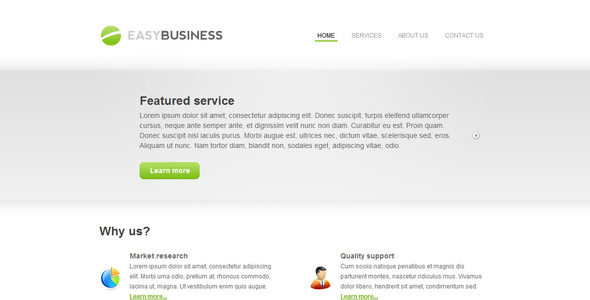 ThemeForest Easy Business 5 in 1 26807