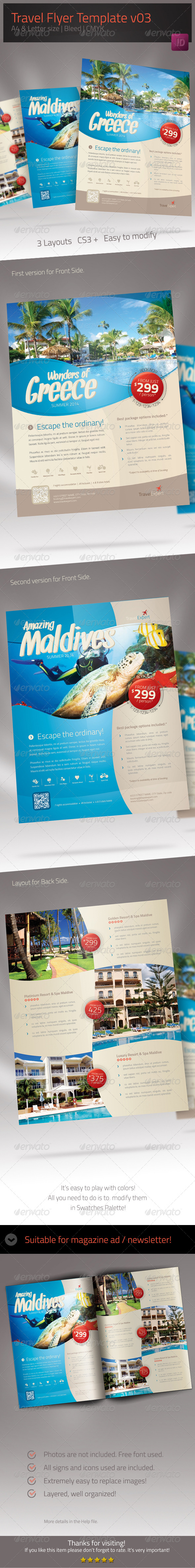 GraphicRiver Travel Flyer 02 6545847