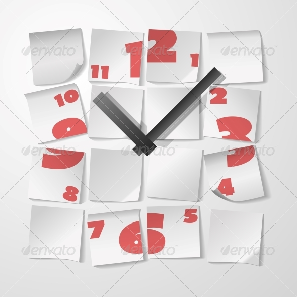 GraphicRiver Clock with Digits 6545919