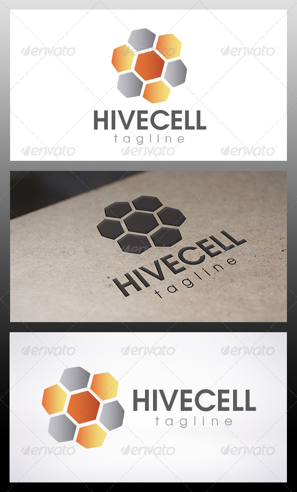 GraphicRiver Hive Logo 6545949