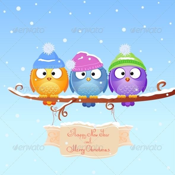 GraphicRiver Christmas Bird 6546180