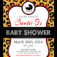Baby Shower Invitation Template - Animal Print v1 - GraphicRiver Item for Sale