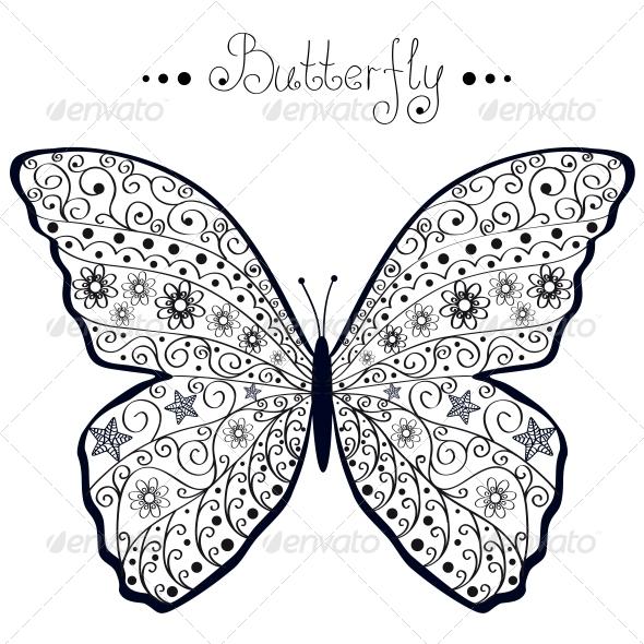GraphicRiver Butterfly 6546328