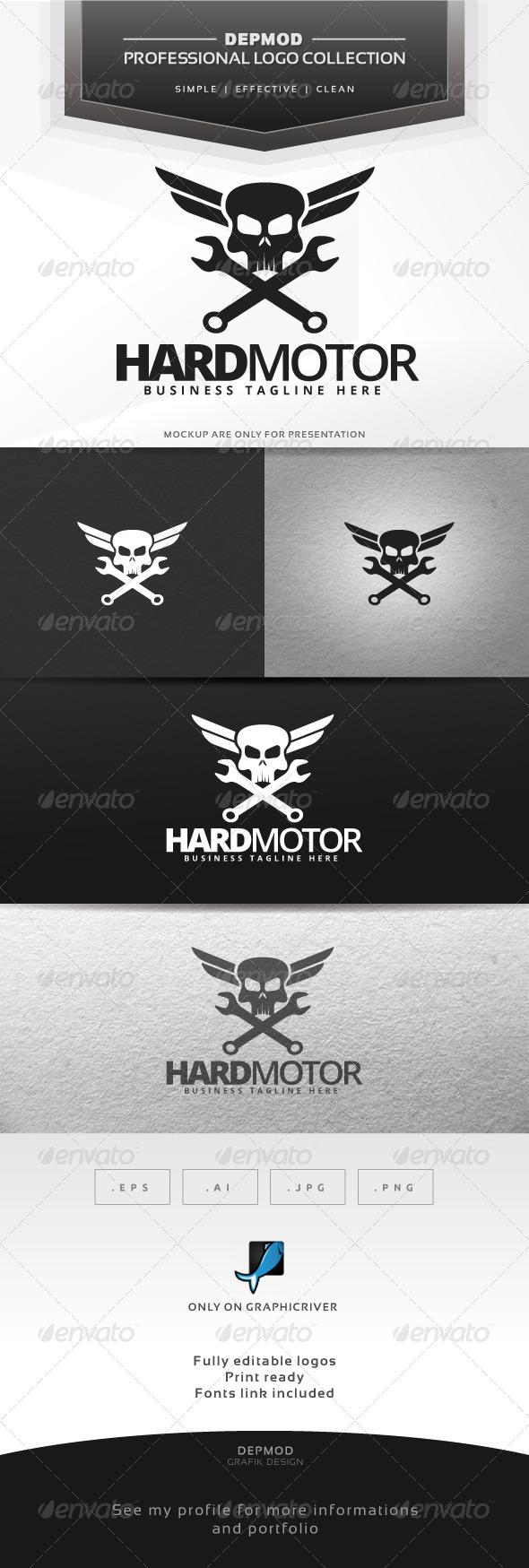 GraphicRiver Hard Motor Logo 6546462