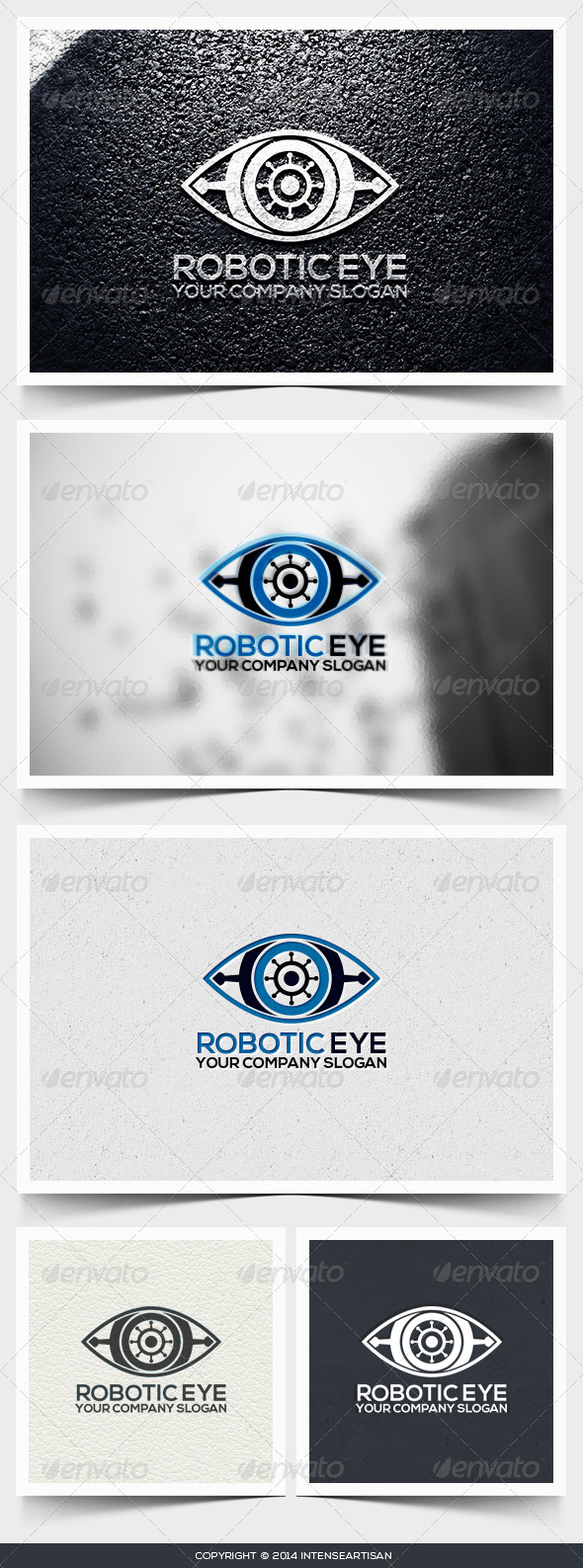 GraphicRiver Robotic Eye Logo Template 6546648