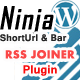 RSS Joiner & Mixer for the Wordpress Ninja Bar - CodeCanyon Item for Sale