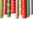 Rolls of colored wrapping  paper on white3 - PhotoDune Item for Sale