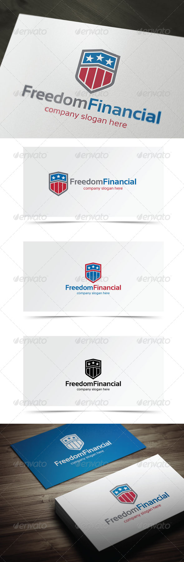 GraphicRiver Freedom Financial 6547054