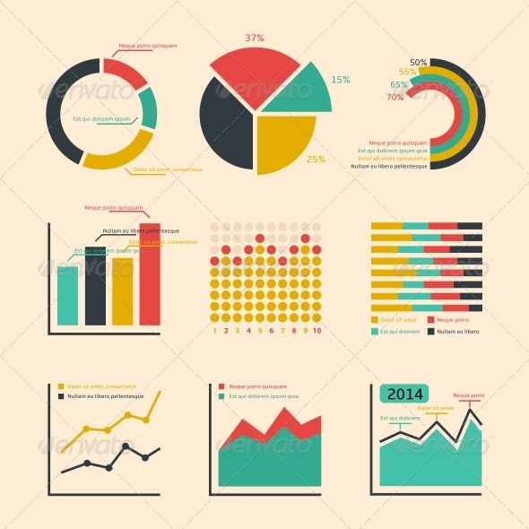 GraphicRiver Business Ratings Graphs and Charts 6547282
