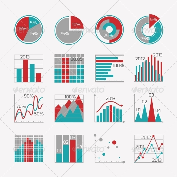 GraphicRiver Infographic Elements for Business Report 6547305
