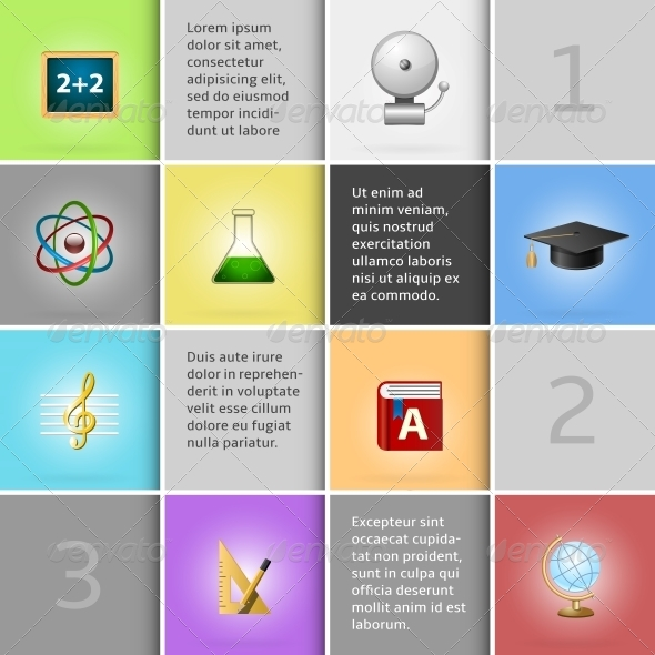 GraphicRiver Education Infographic Elements 6547536
