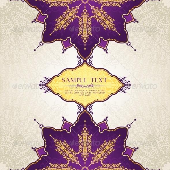 GraphicRiver Arabic Card 6547543