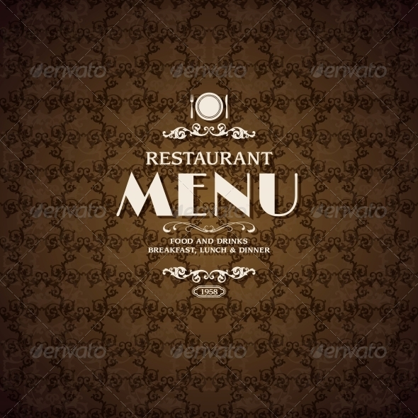 GraphicRiver Restaurant Cafe Menu Cover Template 6547546