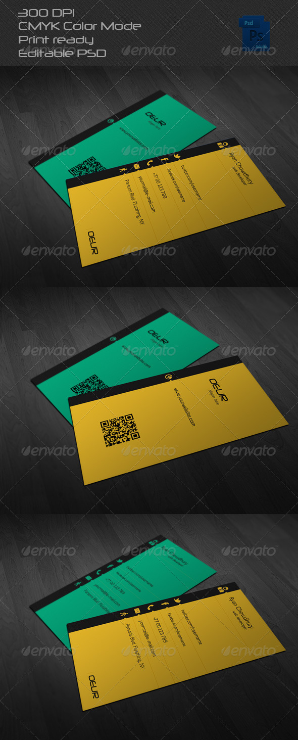 GraphicRiver Corporate Business Card 05 6547638