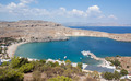 Lindos Bay in Rhodes, Greece - PhotoDune Item for Sale