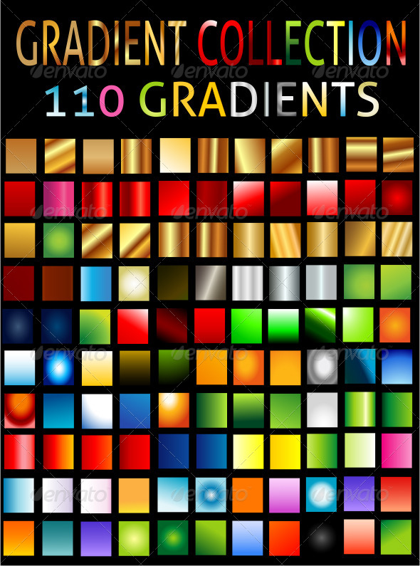 GraphicRiver All Types Of Gradient Collection 6547862