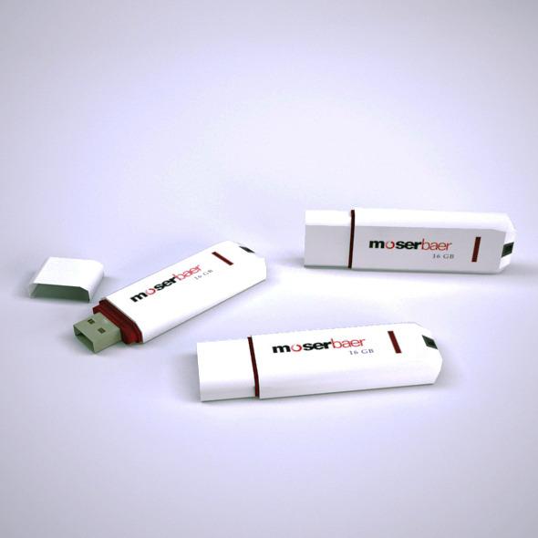 3DOcean Pen Drive 6548052