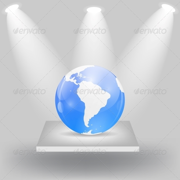 GraphicRiver Globe Icon Vector Illustration 6548113