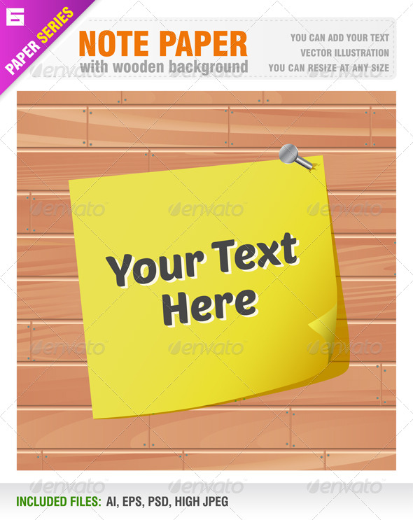 GraphicRiver Note Paper 6531249
