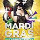 Mardi Gras Flyer Template - GraphicRiver Item for Sale