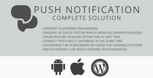 CodeCanyon Send Mobile Push Notification Messages 6548533