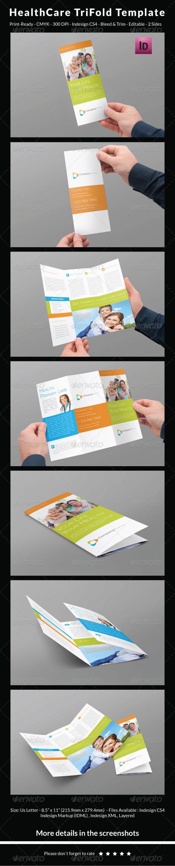 GraphicRiver Healthcare Trifold Template 6548593
