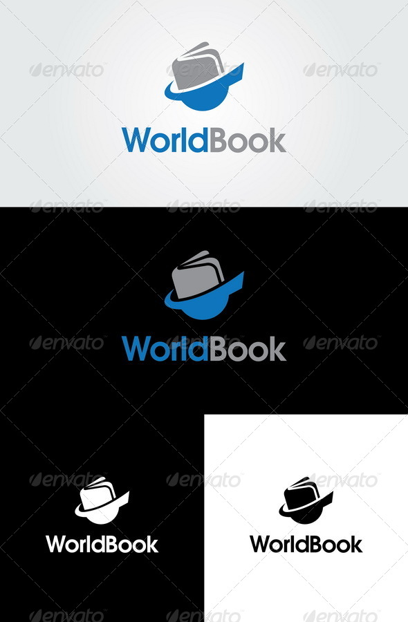 GraphicRiver World Book Logo Template 6548675