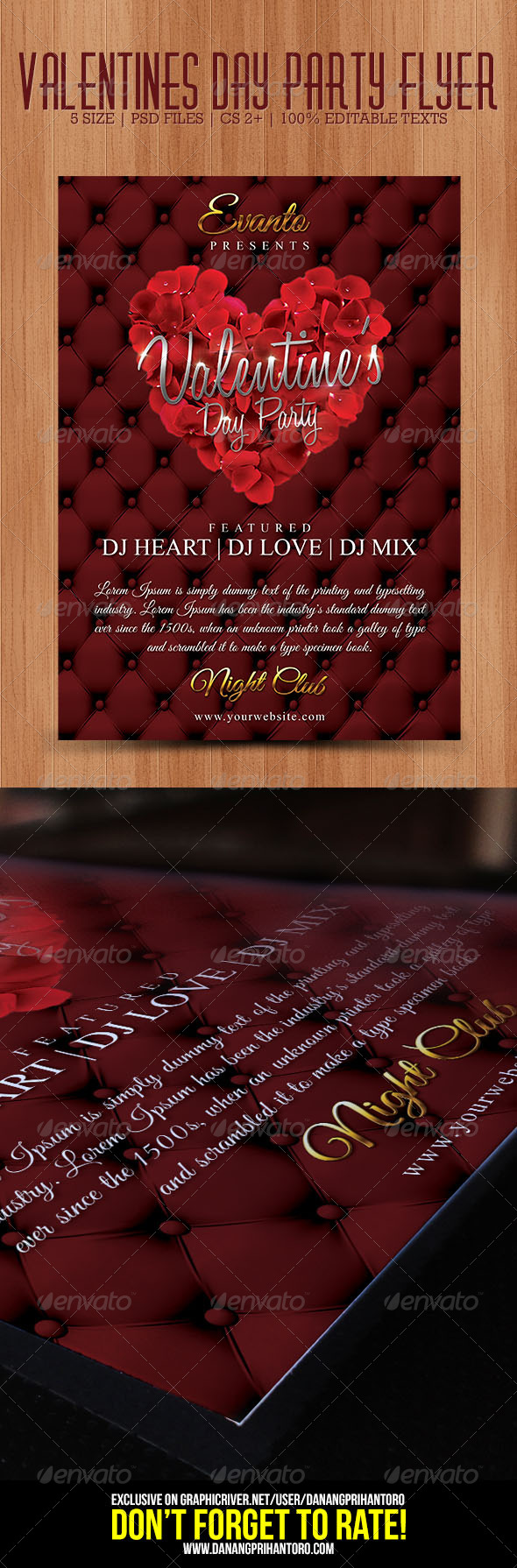 GraphicRiver Valentines Day Party Flyer 6534987