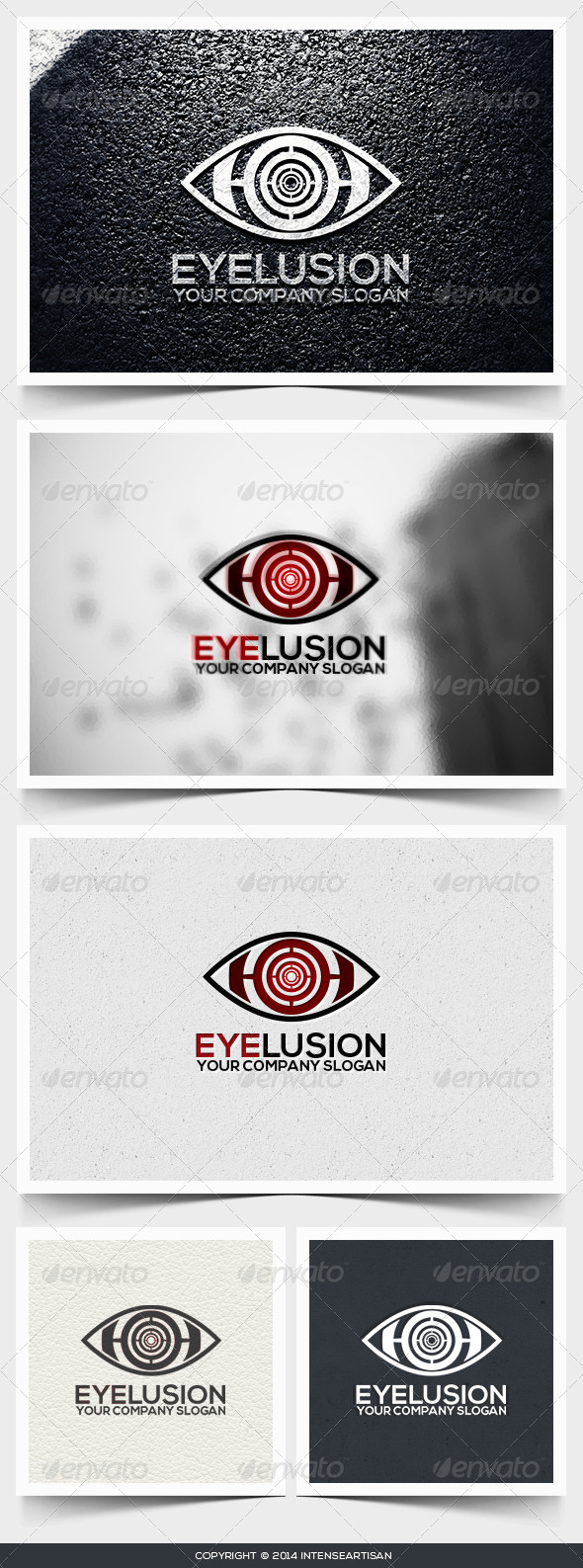 Eyelusion Logo Template