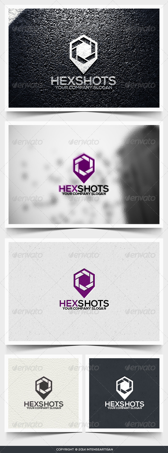 GraphicRiver Hexshots Logo Template 6549419