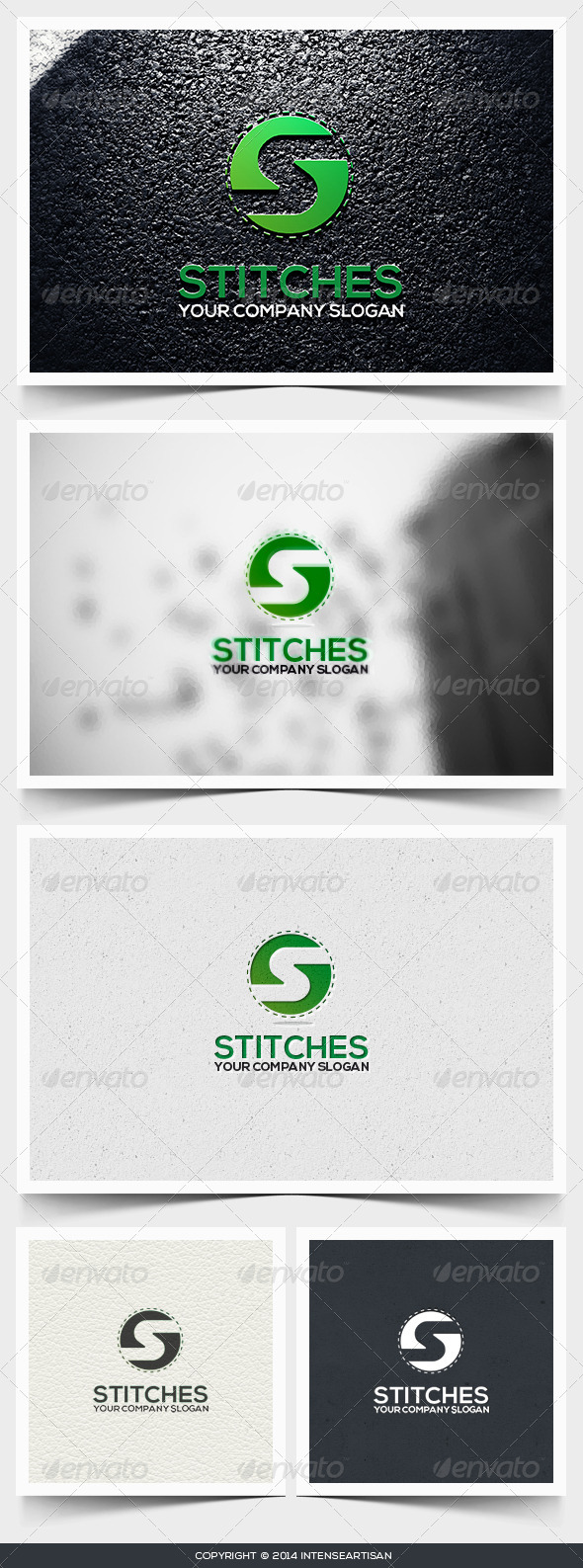 Stitches Logo Template