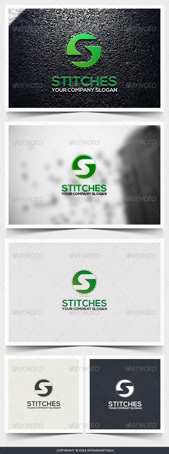 Stitches Logo Template