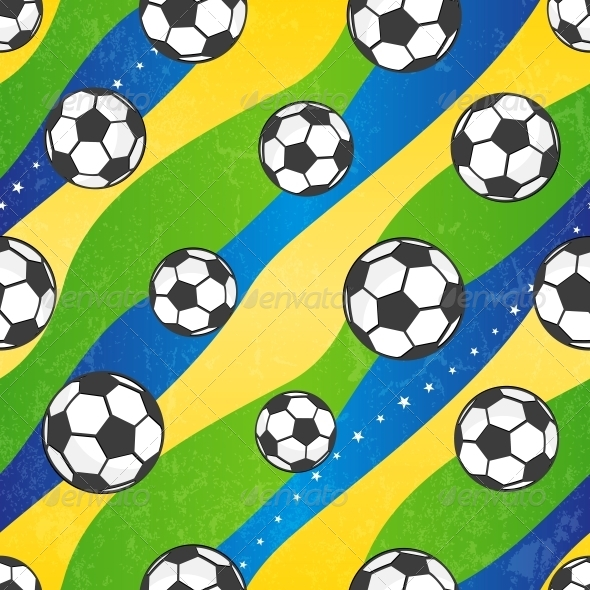 GraphicRiver Seamless Football Pattern 6550175